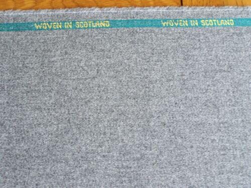 Gris 100/% lana tweed escocés por M.