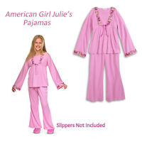 American Girl Cl Julie Pajamas Size Xs (6) For Girls Clothes Butterfly Pj's