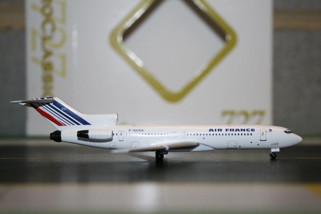 Aeroclassics 1 400 Air France Boeing 727-200 F-GCDA (acfgcda) Modelo Avión De Aire