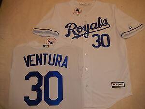 promo code 39dd7 48f3a Details about 51015 Kansas City Royals YORDANO VENTURA