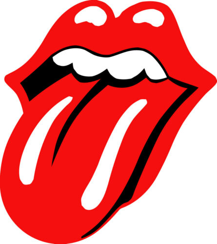 WINDOW MURAL GIANT ART STICKER DECAL VINYL ROLLING STONES LARGE 3 COLOUR  WALL