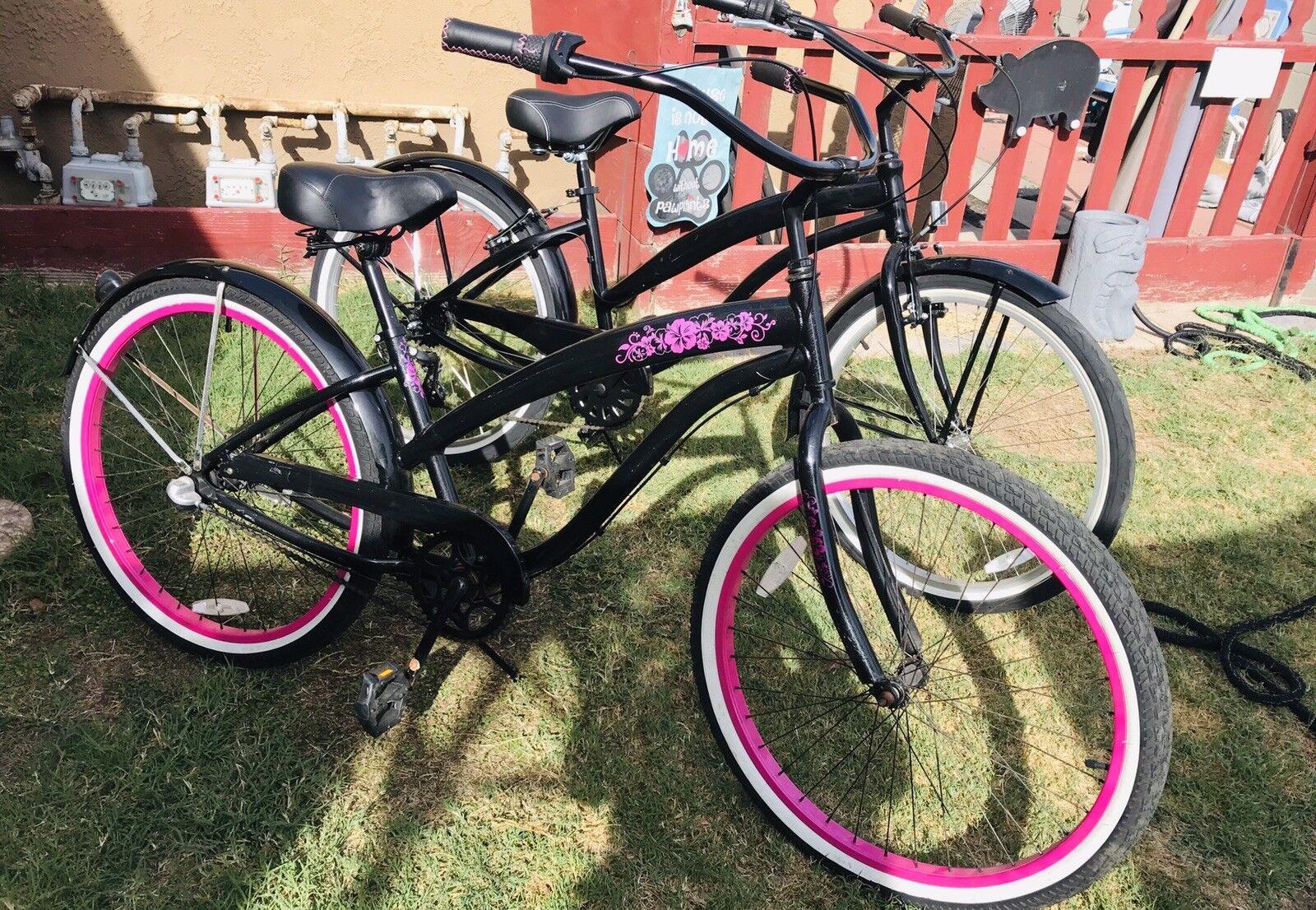 3 Speed And 7 Speed Greenline Bikes