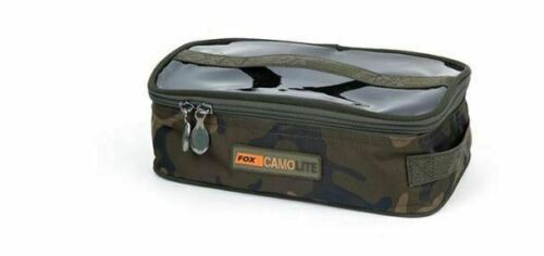 Fox NEW Camolite Carp Fishing Camo Lite Medium Accessory Bag CLU302