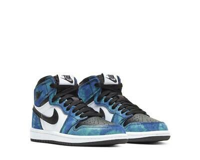 *NEW* Air Jordan 1 High OG Tie Dye PS CU0449 100 Size US 12c 193658016599 |  eBay