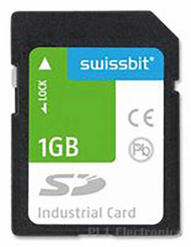 SD, S-200 Series SWISSBIT    SFSD1024L1BN2TO-I-ME-161-STD    Flash Memory Card