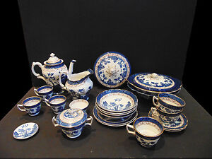 Booths-Real-Old-Willow-Collection-Coffee-Espresso-Cups