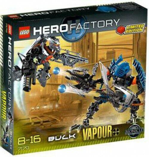 LEGO  Hero Factory Bulk & Vapour Exclusive Set  7179  economico in alta qualità