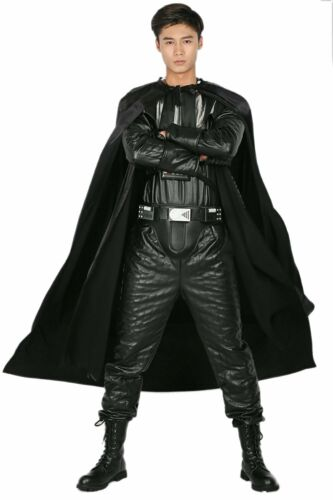 Darth Vader Cosplay Costume Star Wars Prop Male Outfit Halloween High Quality