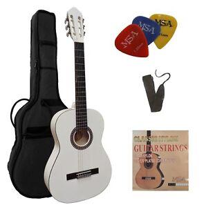 Guitarra-4-4-concierto-set-Accesorios-bolsa-cinturon-de-seguridad-con-cuerdas-sustituto-3-xpik