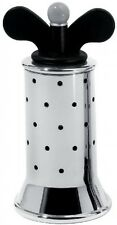 Alessi B 9098 Salt/Pepper Mill With Polyamide Wings Black In 18/10 Stainless