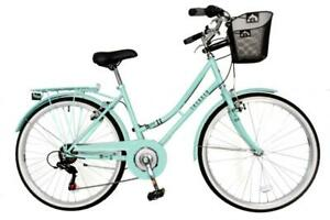 Aurai-Trekker-Ladies-26-034-Dutch-Style-Heritage-City-Bike-6-Speed-Bicycle-Lagoon