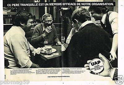 2 Pages Assurances Uap Famous For High Quality Raw Materials And Great Variety Of Designs And Colors Enthusiastic Publicité Advertising 1977 Full Range Of Specifications And Sizes