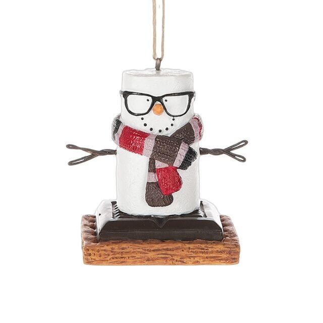 Toasted  S'mores Hipster Christmas Ornament Gift by Midwest CBK 121383
