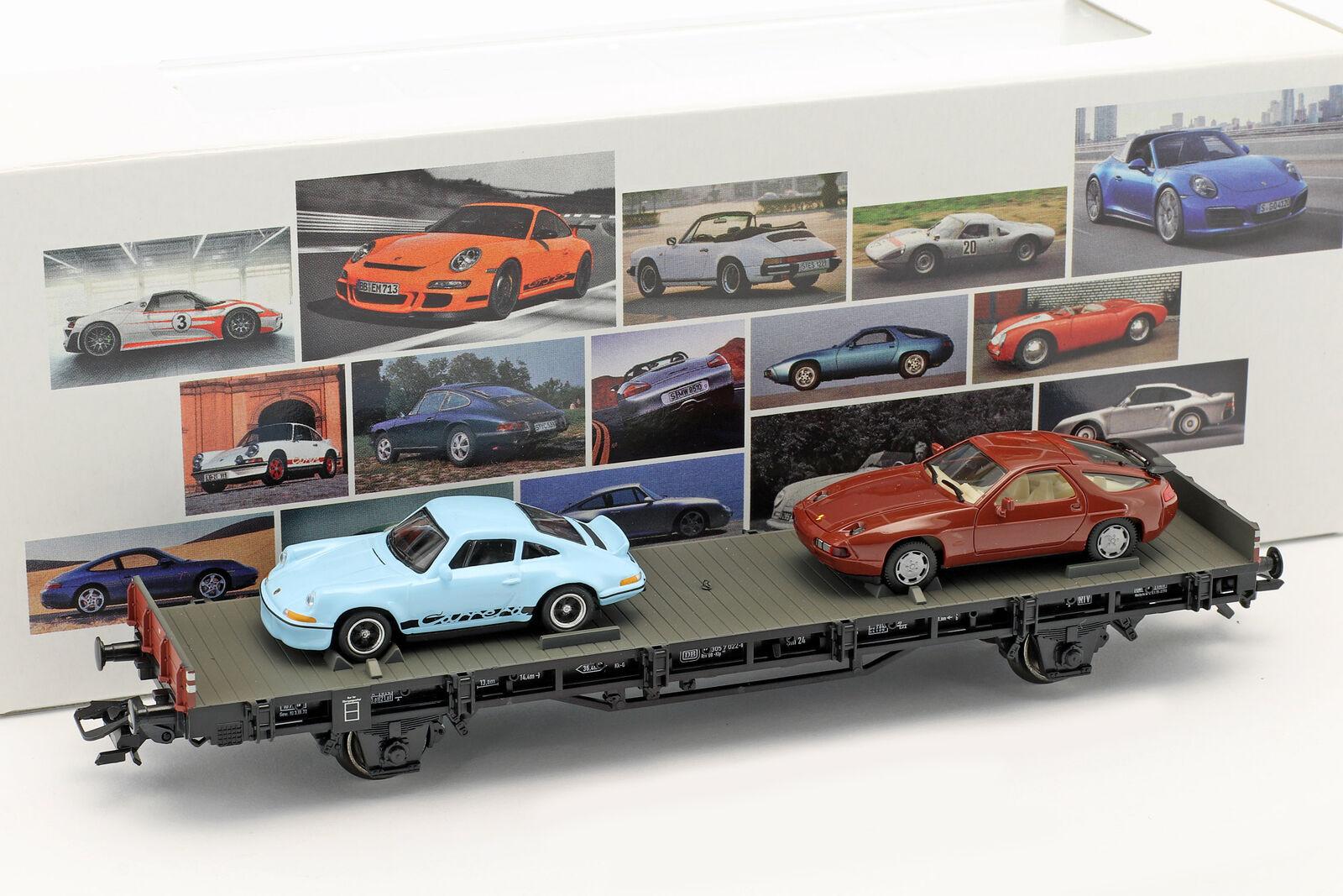 Wagon avec Porsche 911 Rs 2.7 & Porsche 928 70 Jahre Sport Porsche Jeu Nr