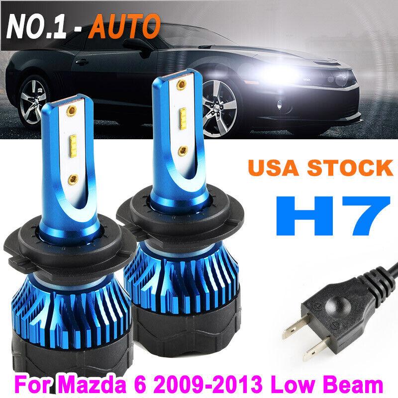 2x H1 Led Headlight Bulb Holder Adapter For Honda Prelude