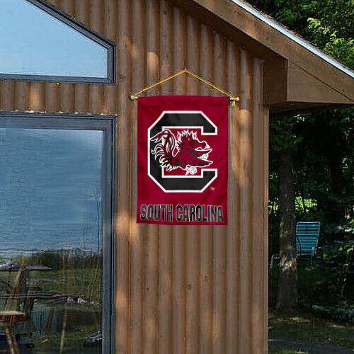 South Carolina Fighting Gamecocks USC University College House Flag
