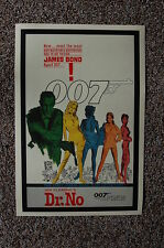 Dr. No Lobby Card Movie Poster James Bond Sean Connery #1