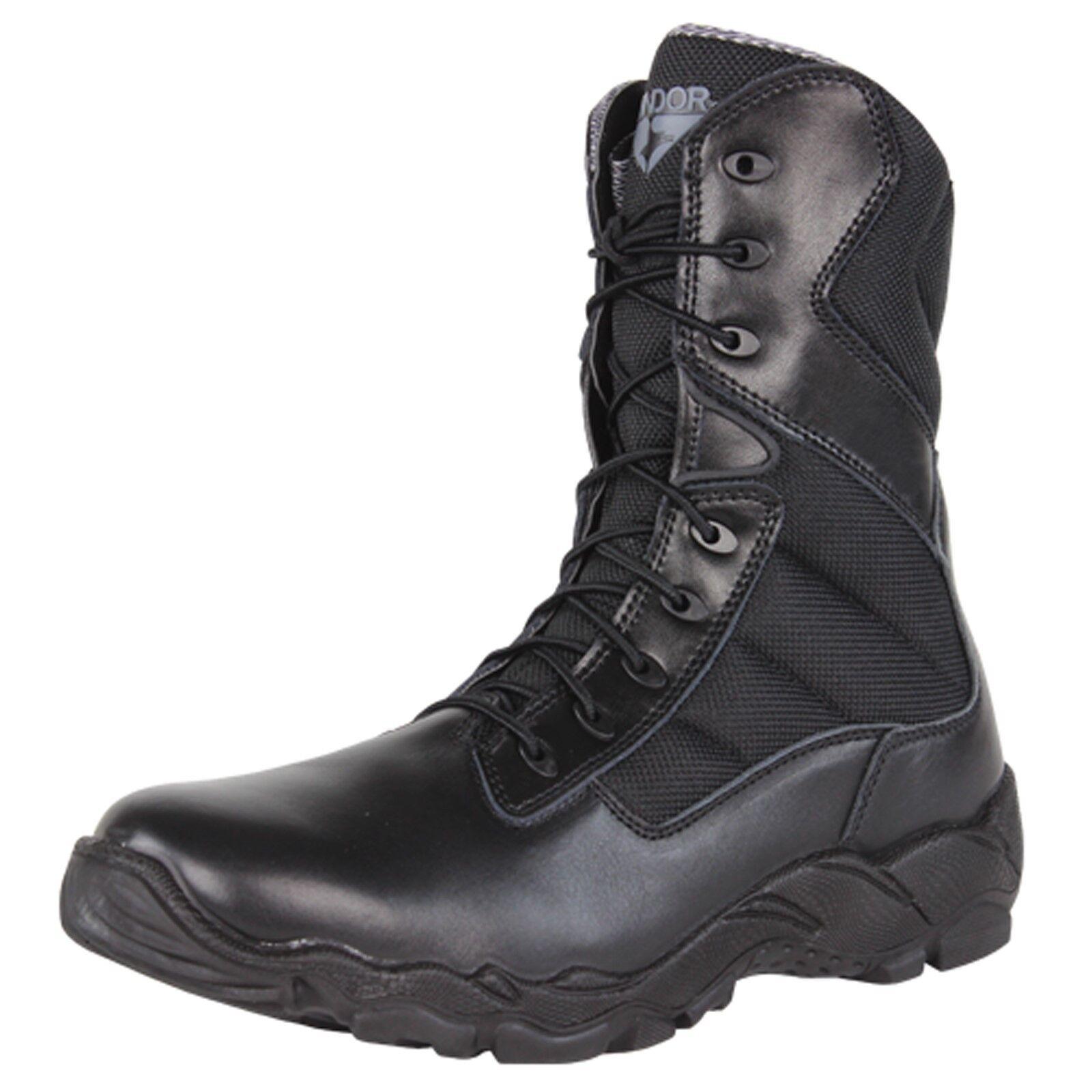 Condor Bailey Law aplicación táctica de Combate Militar botas de tobillo alto-negro