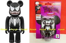 Medicom Be@rbrick Marvel The Amazing Spiderman 100% Black Venom Bearbrick 1pc