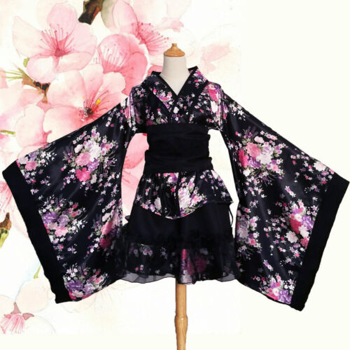 LUNAR GARNiDELiA Sakura Kimono Cosplay MV Costume Dance Full Set Women/'s Gift