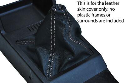 Surpiqûres blanches s/' adapte Ford Granada MK2 77-85 CUIR GEAR GAITER