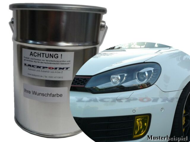 1 Litre Water Based Spray Ready Car Paint Vw Golf 6 D6t Electronic
