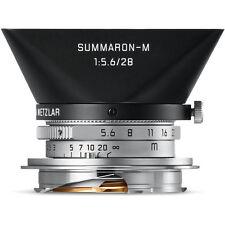 New Leica Summaron-M 28mm f/5.6 Manual Focus Lens # 11695