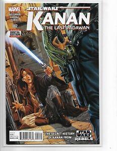 Never Read! Near Mint Marvel Comics Star Wars Kanan the Last Padawan #10