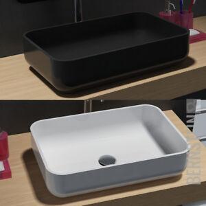 Aufsatzwaschbecken Mineralguss Waschtisch Waschbecken Waschschale