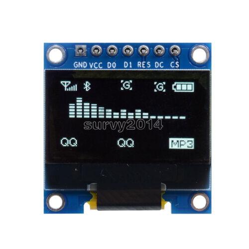 """3-5V 0.96/"""" SPI Serial 128X64 OLED LCD LED Display Module White for Arduino"""