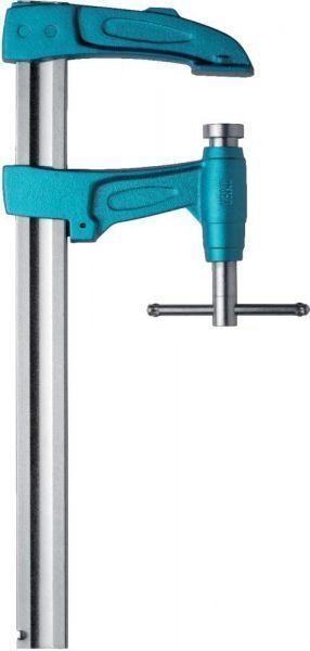Hochleistungs-Bolzenzwinge mit KG ud Metallknebel 4003-P, 40x10, 140mm x 600mm