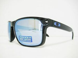136d249c9b Image is loading new-authentic-OAKLEY-HOLBROOK-polarized-Sunglass-BLACK- PRIZM-