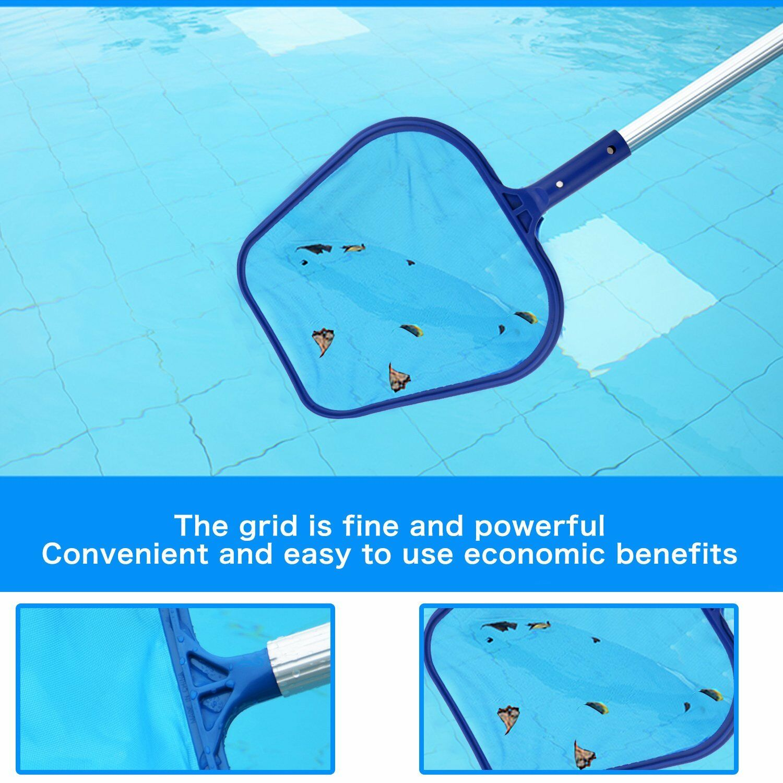 Useful leaf net swimming pool rake spas skimmer koi pond for Koi pond next to pool