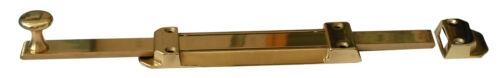 catenaccio saliscendi in ottone lucido fermaporta 40 cm gancio blocca porta