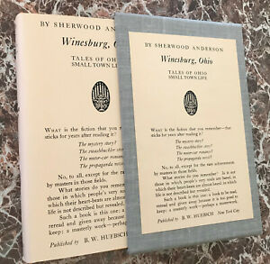 Winesburg, Ohio, by Sherwood Anderson ~BEST Facsimile of 1919 First Edition