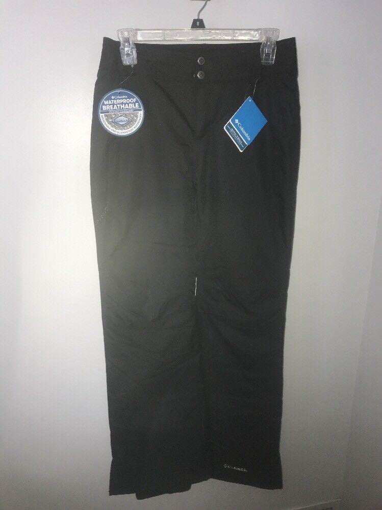 Nuovi con Etichette Columbia Arctic Viaggio Pantaloni Sci Snowboard Donna - Nero