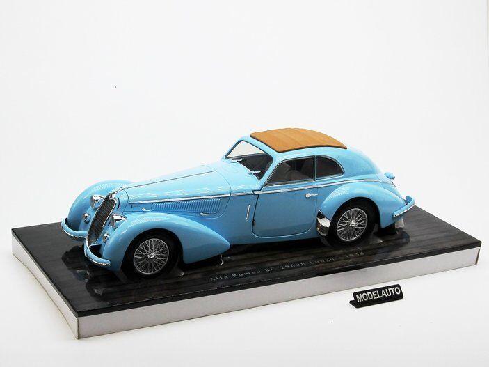 Alfa romeo 8c 2900 b 18 minichamps lungo 1938 hellblau