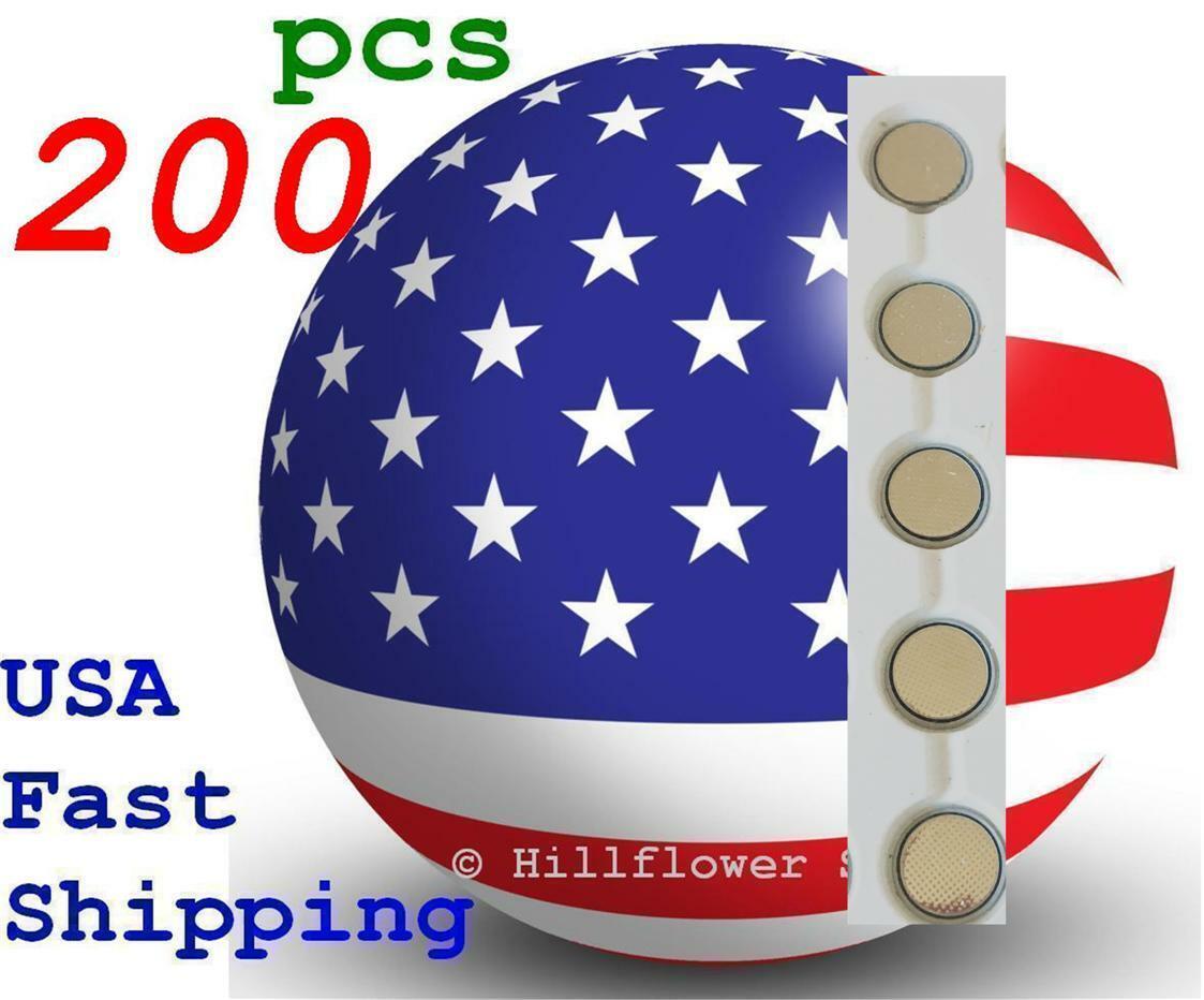 200 piece CR1216 LM1216 BR1216 1216 Bulk 3V Lithium Battery USA Seller