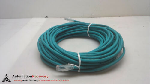 RJ45 MALE LUMBERG AUTOMATION 0985 806 500//20M CAT5E ETHERNET CABLE #262462