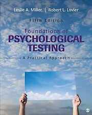 Foundations Of Psychological Testing A Practical Approach By Robert L Lovler Leslie A Miller And Sandra A Mcintire 2015 Hardcover For Sale Online Ebay