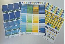 Planner stickers weekly kit, flowers, Fits Erin Condren and Happy planners