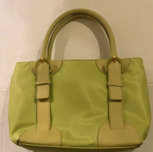 Furla Tote Bag  Lime/ Neon Green