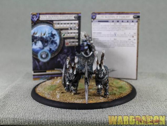 Hordas Wds Pintado Legión de Everblight lylyth, Reckoning de Everblight n19