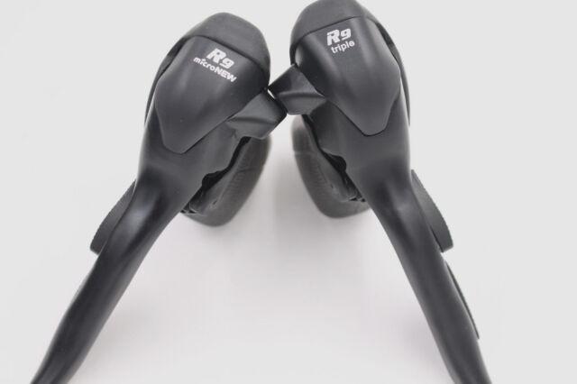 Microshift Micronew 2//3x7 Speed SB-R472 R473 Road Bike Shifter Brake Levers Set