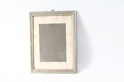 Knowledgeable Bonito Antiguo Marco De Madera Para Foto Marco Sin Imagen 1962 Espejos Muebles Antiguos Y Decoración