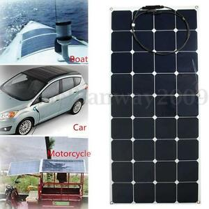 120W-12V-Semi-Flexible-Solar-Panel-Battery-Charger-For-RV-Boat-Caravan-Motorhome