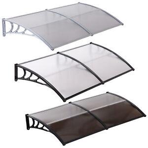 80x40-034-Door-Window-Outdoor-Awning-PC-Hollow-Sheet-Sun-Shade-Cover-Canopy-Patio
