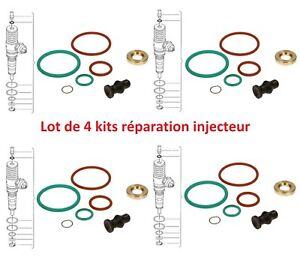4 Kit réparation Joint injecteur AUDI 1.4 1.9 2.0 2.5 TDI