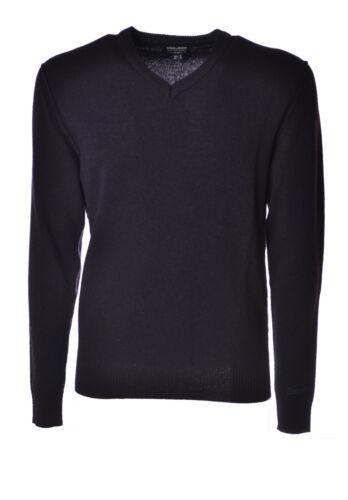 pullover Maglieria Uomo 4217406c191446 Blu Woolrich wvS4qx