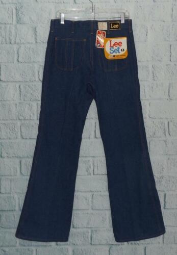 NOS Men's Vintage USA MADE Lee Set 1970's Denim Bl